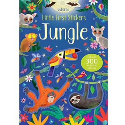Little First Stickers Jungle 叢林貼紙書