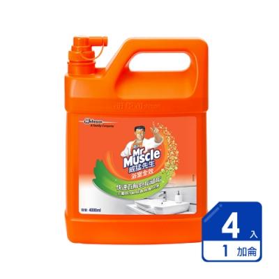 威猛先生 浴室清潔劑加侖桶(4入/箱)