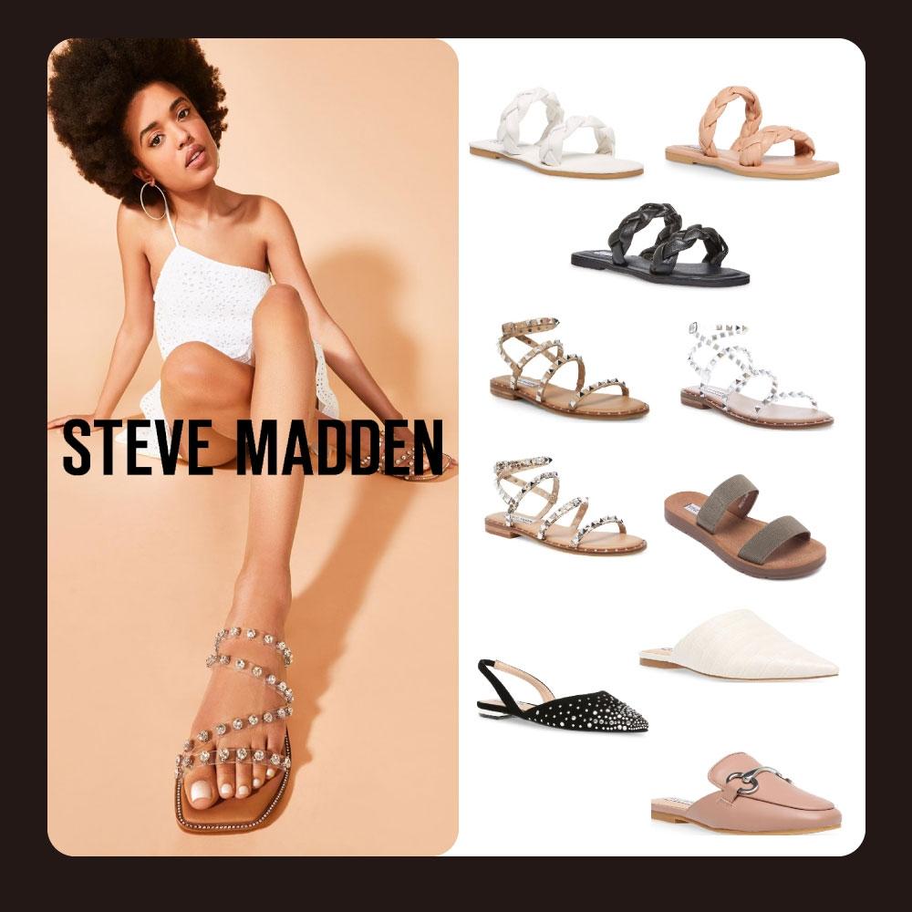 STEVE MADDEN+ 熱銷涼鞋穆勒鞋限時均一價1599元 (六款任選)