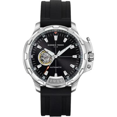 GIORGIO FEDON 1919 TIMELESS IX 鏤空機械錶(GFCK007)