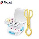 日本《Richell-利其爾》微波爐專用奶瓶消毒盒+消毒用鉗夾