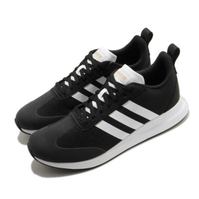 adidas 慢跑鞋 Run60s 運動休閒 男鞋 海外限定 愛迪達 基本款 百搭 黑 白 EE9731