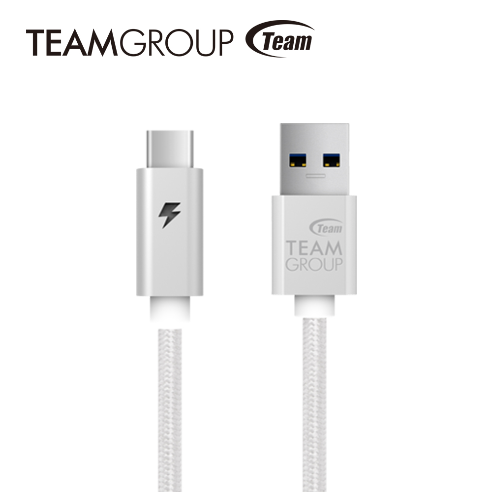 Team十銓科技 USB 3.1 Gen1 TypeC充電/傳輸線 TWC0A
