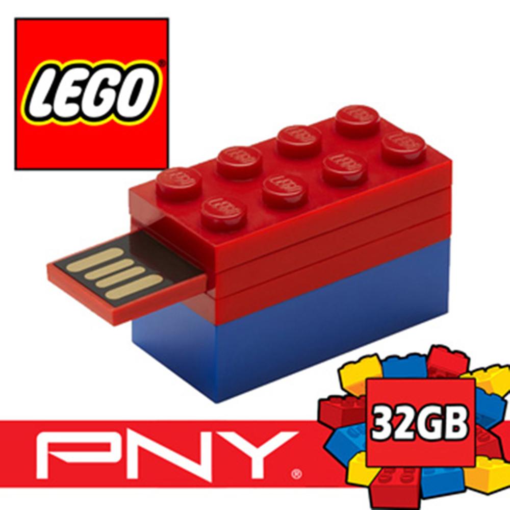 PNY LEGO 樂高 積木隨身碟 32GB