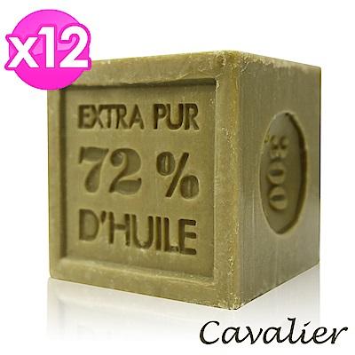 Cavalier 雪弗里耶 法國經典馬賽皂300g(12入組)