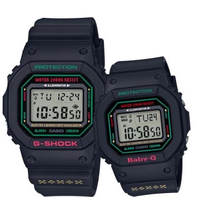 CASIO 天使與惡魔情人限量對錶(LOV-19B-1DR)