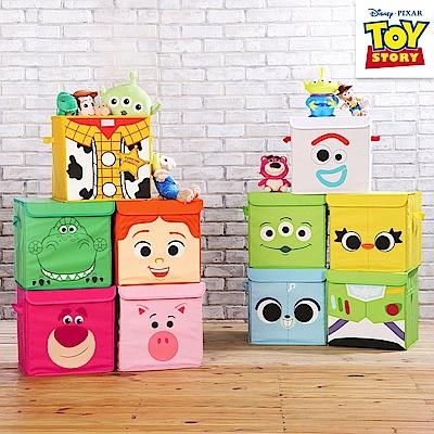 【收納皇后】玩具總動員系列方形摺疊收納箱(10款任選)