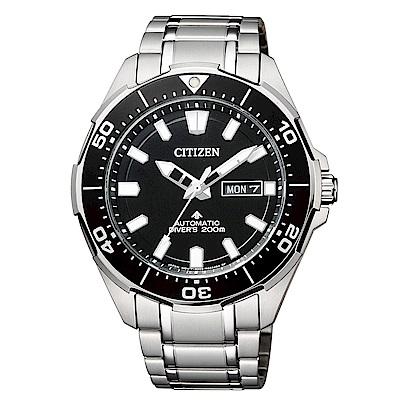 CITIZEN 星辰PROMASTER 海洋系列潛水運動流線腕錶(NY0070-83E)