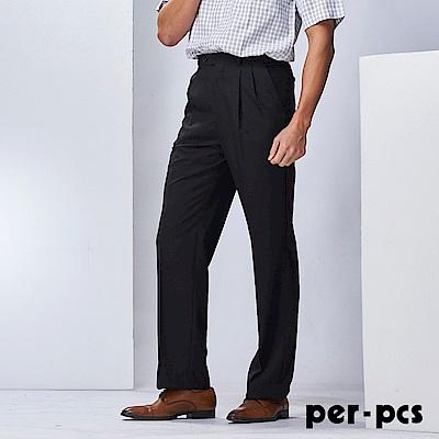 per-pcs 都會休閒打褶西裝褲_715202