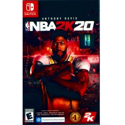 勁爆美國職籃 2K20 NBA 2K20 - NS Switch 中英文亞版 (美版)