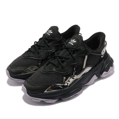 adidas 休閒鞋 Ozweego TR 運動 女鞋 海外限定 愛迪達 舒適 避震 簡約 穿搭 黑 銀 FV9764