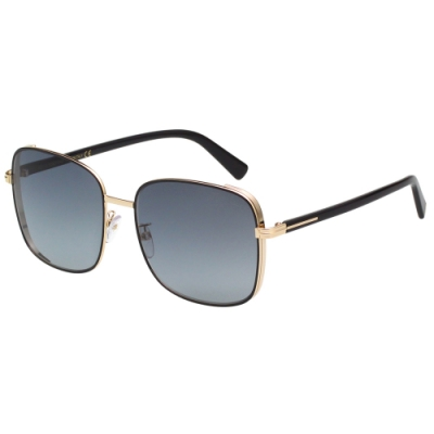 TOM FORD 方形 太陽眼鏡(黑配金)TF722K