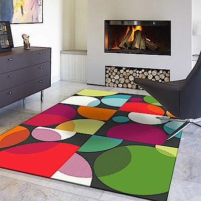 范登伯格 - SWING 進口仿羊毛地毯 - 聚焦 (120 x 170cm)
