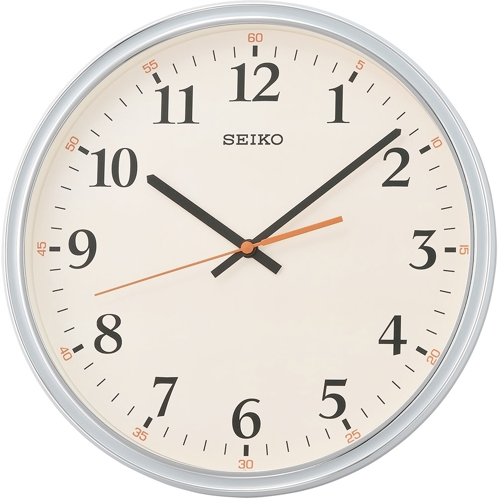 SEIKO 日本精工 滑動式秒針 時鐘(QXA751N)米/31.2cm
