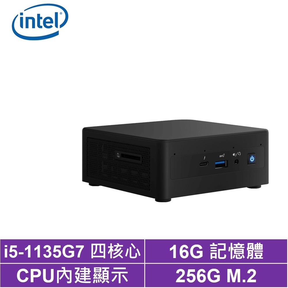 Intel NUC平台i5四核{金刀御使II} 迷你電腦(i5-1135G7/256G M.2 SSD)