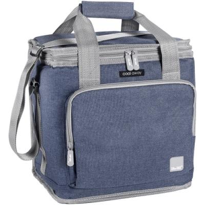 《IBILI》肩背保冷袋(灰藍15L)
