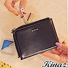 KINAZ 魔法多用途零錢票卡夾-俐落黑魔力 -小物魔法系列