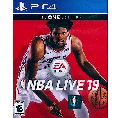 勁爆美國職籃19 NBA LIVE 19 The One Edition-PS4 英文美版