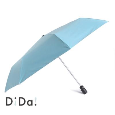 DiDa 雨傘 輕量八骨安全自動傘 水藍色