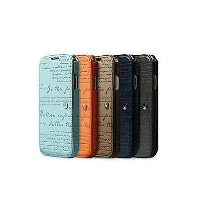 ZENUS SAMSUNG GALAXY S4 復古刻紋 書本式皮套