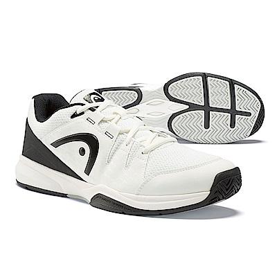 HEAD奧地利 Brazer 男網球鞋/休閒鞋/運動鞋-白/黑 273519