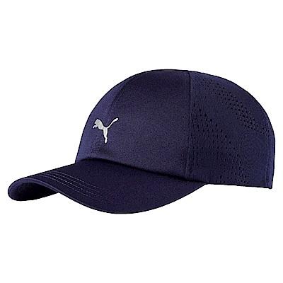 PUMA-男女慢跑系列棒球帽-重深藍