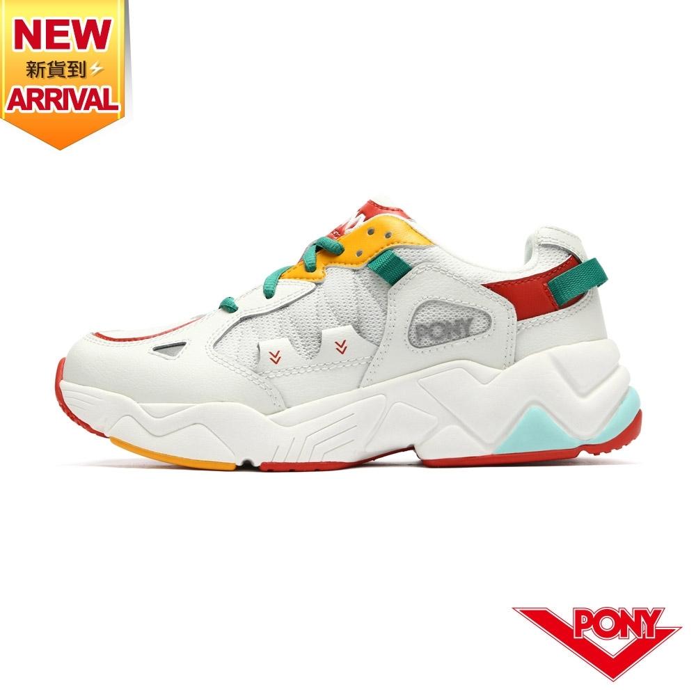 【PONY】MODERN 3 電光鞋 老爹鞋 女鞋-繽紛色