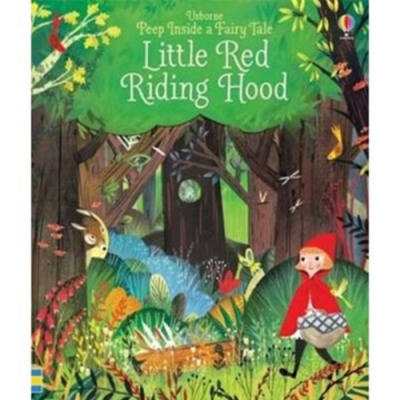 Little Red Riding Hood 小紅帽瞧瞧看翻翻操作書