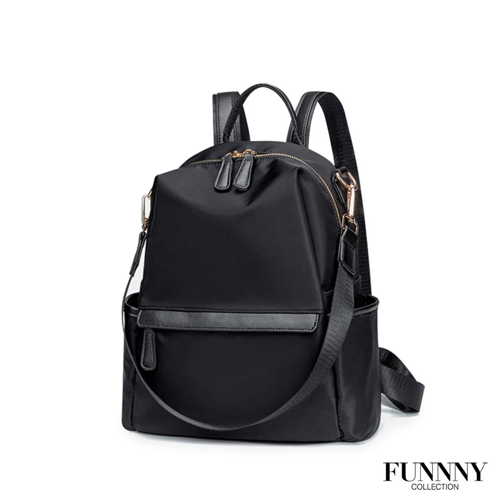 FUNNNY 實用3way尼龍後背包 Fionn 經典黑