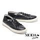 休閒鞋 MODA Luxury 簡約率性兩穿後踩式厚底休閒鞋-黑 product thumbnail 1
