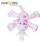美國 nookums 寶寶可愛造型安撫奶嘴/玩偶-粉紅長頸鹿