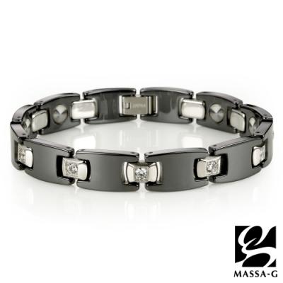 DECO X MASSA-G【Black】黑白絕配陶瓷手環