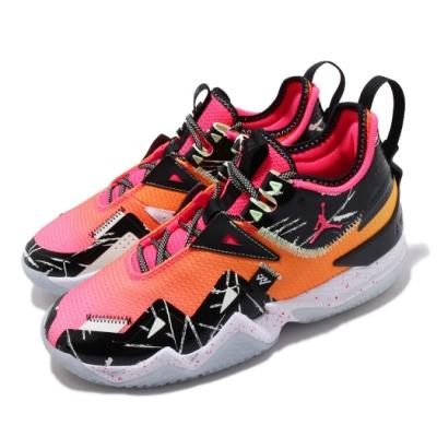 Nike 籃球鞋 Westbrook One Take 男鞋 喬丹 避震 包覆 球鞋 夜光底 穿搭 橘 黑 CJ0781600