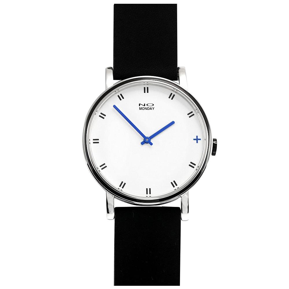 NO Monday Minute 16系列設計師錶-藍/43mm