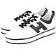 HOGAN H449 H 牛皮繫帶厚底雙槓鞋(白色) product thumbnail 1