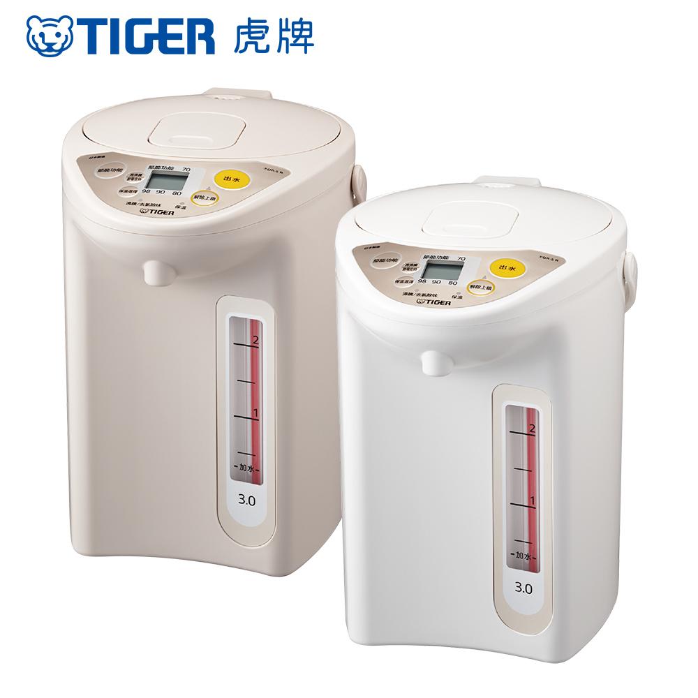 (日本製) TIGER 虎牌3.0L微電腦電熱水瓶(PDR-S30R)_e product image 1
