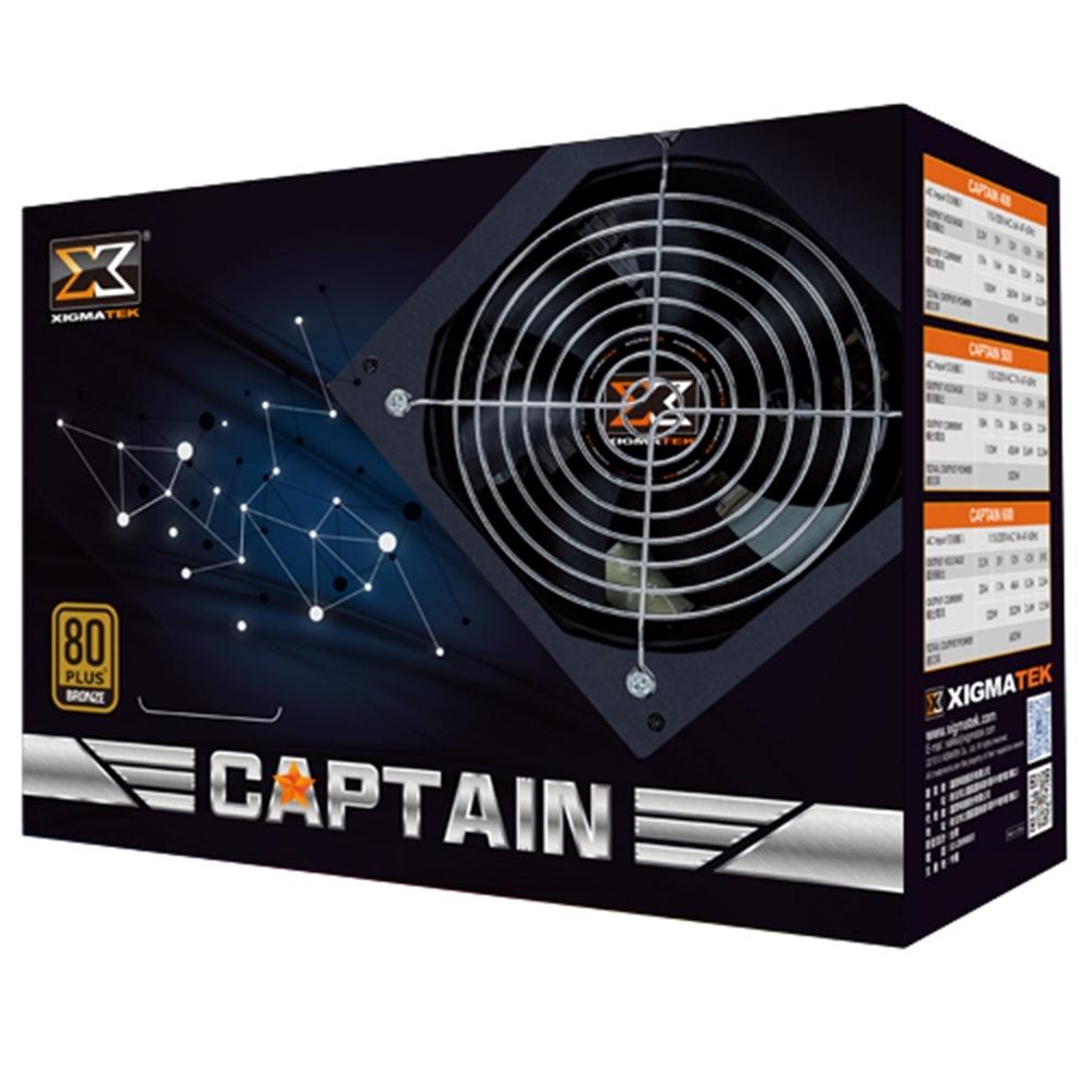 Xigmatek Captain 600W 80+銅牌
