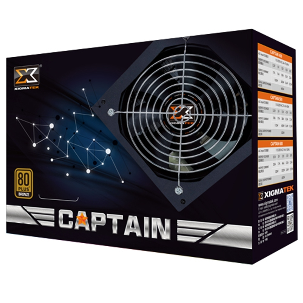 Xigmatek Captain 400W 80+銅牌