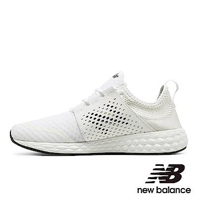 New Balance 避震跑鞋 男鞋 白 MCRUZWT