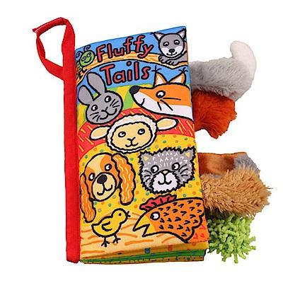 JoyNa嬰兒可愛動物布書安撫玩具