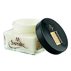 【SAPHIR莎菲爾-金質】皮革保養霜-深色皮件保養 皮革保養油推薦