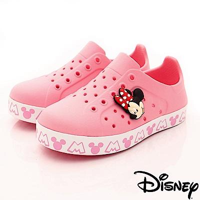 迪士尼童鞋 米妮洞洞休閒鞋款 ON18137粉(中小童段)
