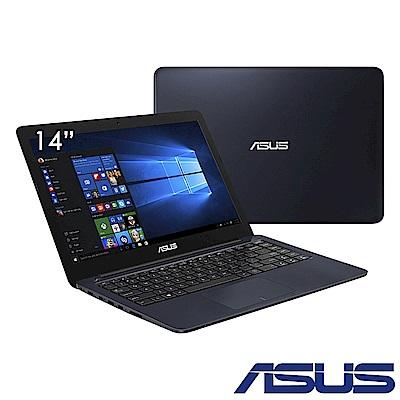 ASUS L402NA 14吋四核筆電(N3450/32G/4G/送Office365/藍