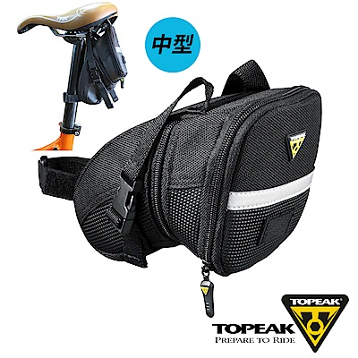 TOPEAK Aero Wedge Pack Large空氣力學低風阻後座墊袋-中型