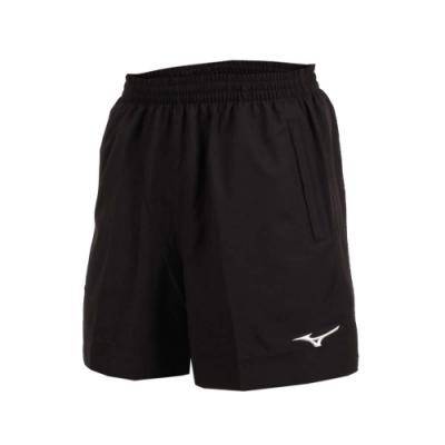 MIZUNO 男桌球短褲-乒乓球 五分褲 競賽 運動短褲 美津濃 黑白