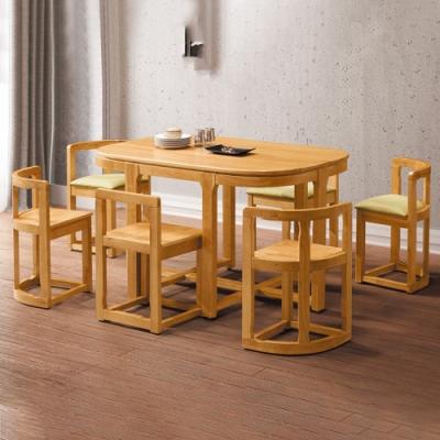 H&D 橡膠木905型餐桌