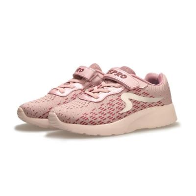 【ZEPRO】SKR潮感速度輕量運動鞋(中童)-淺粉