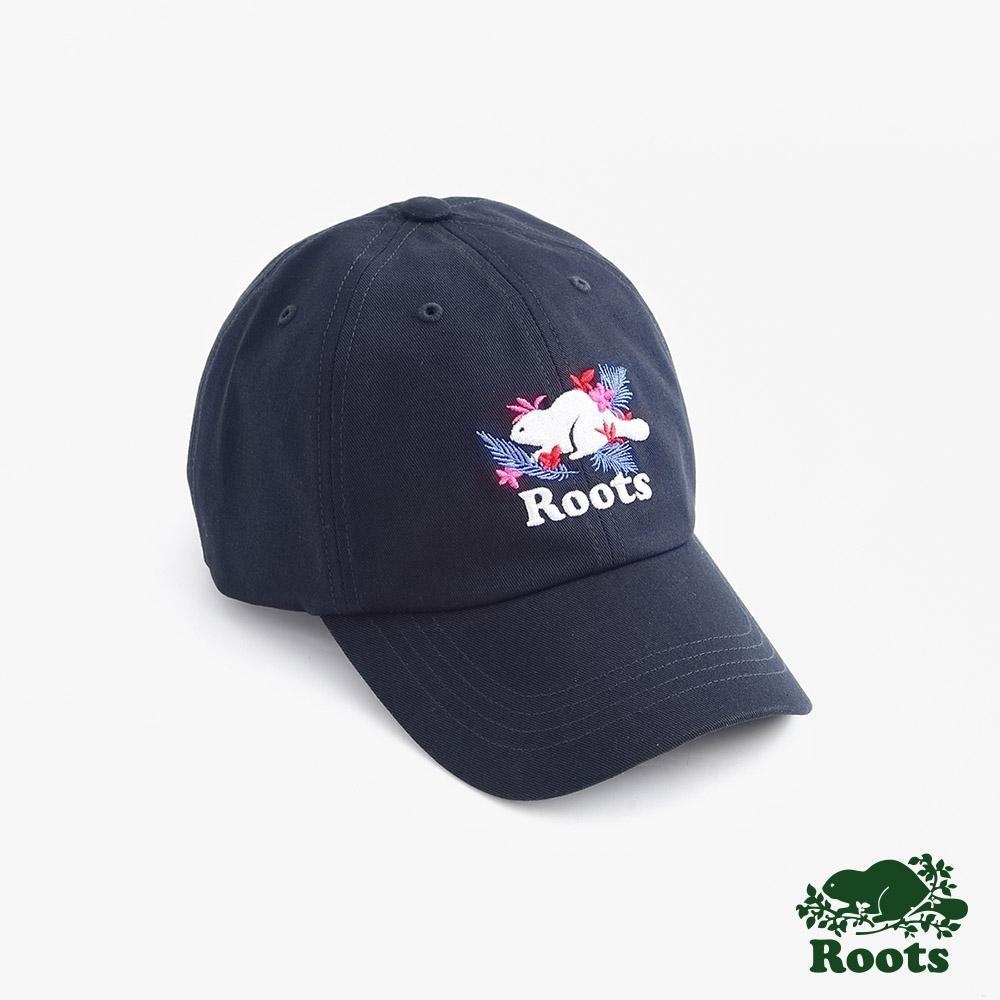 配件Roots-夏威夷海狸棒球帽-藍