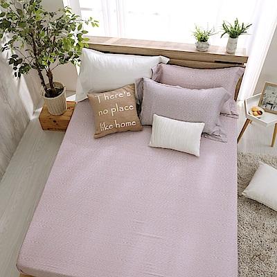 鴻宇 雙人床包枕套組 天絲300織 諾維亞 台灣製