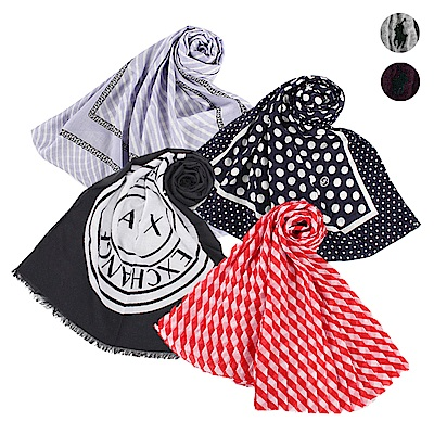[時時樂限定]MK/AX/RALPH LAUREN 春夏系列薄圍巾-多款多色